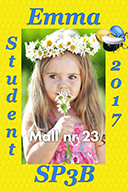 Studentskylt mall nr 23